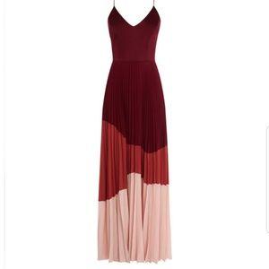 Karen Millen Atelier Collection Pleated Dress